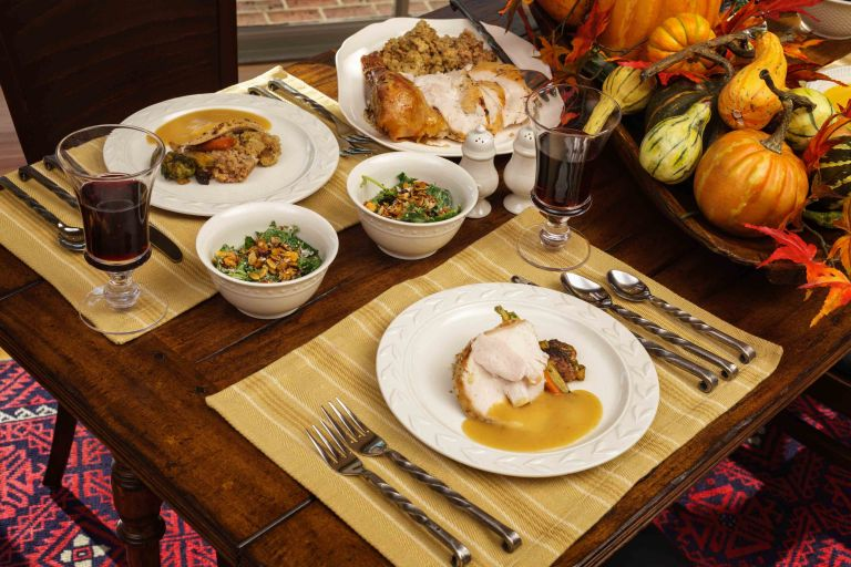 thanksgiving dinner williamsburg lodge