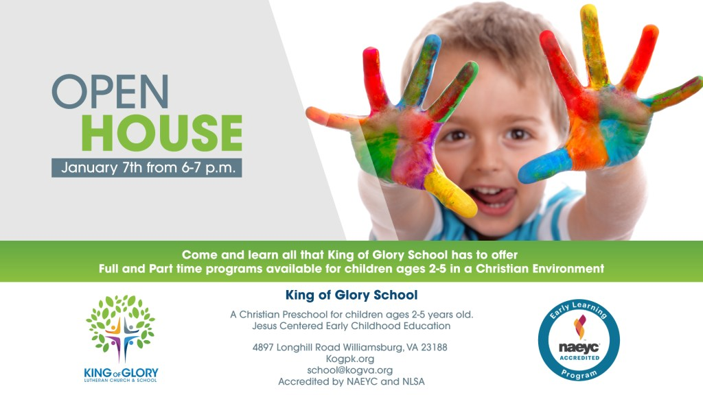 king of glory open house