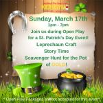 We Rock the Spectrum KID'S GYM for all kids in Williamsburg is hosting a St. Patrick's Day Event!