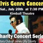 Win 4 tickets to Elvis Genre Concert at the Kimball Theatre on July 20