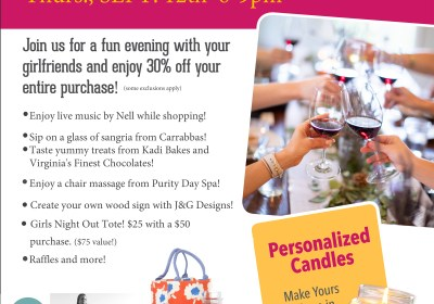 Yankee Candle Girls Night Out Fall