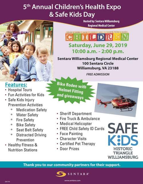 sentara-kids-expo-safe-kids-williamsburg