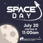 Space Day is July 20th at the JCC Library! Bring the Kids!!