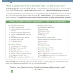 Volunteer Opportunities at Compassionate Care Hospice