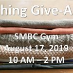 Great Clothing Giveaway is Aug 17th - learn more