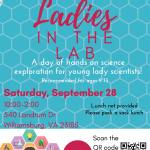 Lady Scientists invited to Ladies in the Lab at W&M