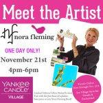 Meet Nora Fleming and have her sign your purchase!