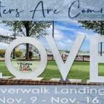 LOVE letters artwork comes to Yorktown Riverfront Nov 9 - 16, 2019