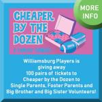 Single Parents, Foster Parents and Big Brothers/Big Sisters Volunteers - Get FREE Tickets to Cheaper by the Dozen!
