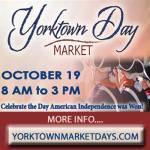 Yorktown Day Market is this Sat., at the Yorktown Market Days  on the Riverwalk Landing