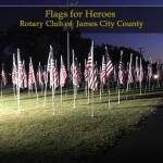 Have you seen the flags on the lawn at Veterans Park home of Kidsburg on Iron Bound Rd? Here's the scoop...