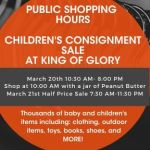 Win a Pre-Sale Pass to King of Glory Consignment Sale