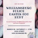 Williamsburg Police Department Hosts Egg Hunt