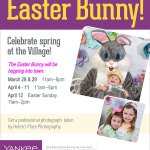 Take a Picture with the Easter Bunny at Yankee Candle - Photos by Helen's Place Photography