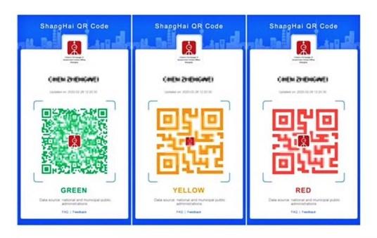 shanghai quarantine colors