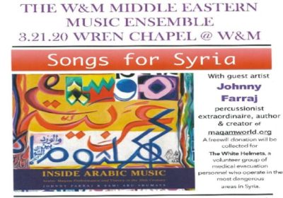 songs for syria wm campus