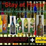 Wine Bottle Art - All Ages Welcome to Participate in this Community Art Project with Culturefix