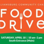 Food Drive - Williamsburg Community Chapel - April 18th