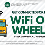 Wi-Fi on Wheels! WJCC School will provide free internet access via school busses