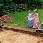 Juneteenth at the Custis Square archaeological site in Colonial Williamsburg - Open to the Public - June 19, 2020