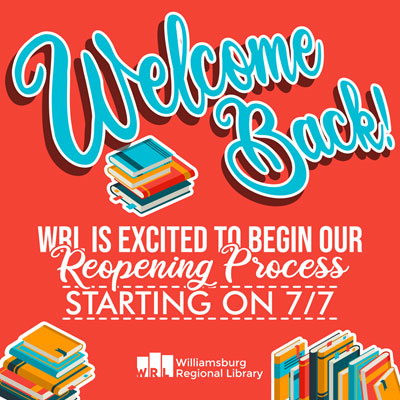 Williamsburg Regional Library reopens