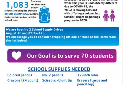 YMCA School Supply Drive