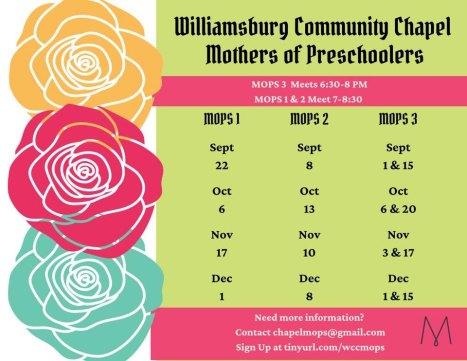 MOPS Williamsburg Community Chapel
