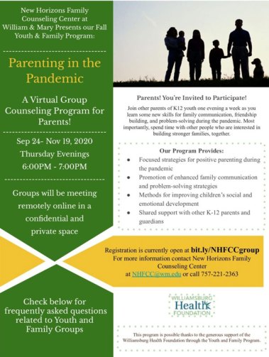 Family Counseling Center at William and Mary