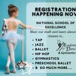 Academy of Dance at WISC is now registering FALL session
