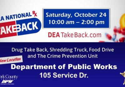 York County Drug Takeback