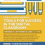 Family Academy: Tools for Success in the Digital Classroom