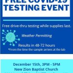 Free COVID Testing - 8 New Testing Sites on the Peninsula