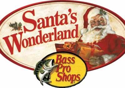 santa at bass pro hampton