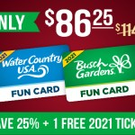Busch Gardens Christmas Sale on Tickets