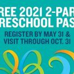 Busch Gardens Preschool Pass 2021 - 2 Parks FREE for kids 5 and under