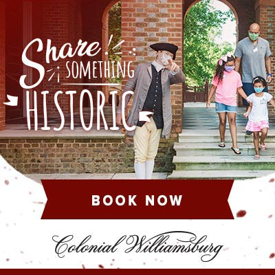 Pictures of Colonial Williamsburg 2021 Calendar