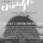 Mother's Empowerment Group - February 2nd - Limited Spots