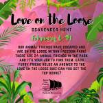 Love on the Loose Scavenger Hunt for kids - Feb 6 - 14, 2021