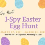 I-Spy Easter Egg Hunt at Waller Mill Park - FREE