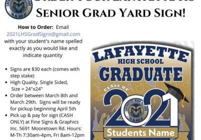 Senior-Yard-Signs-for lafayette hs