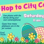 Want a picture with the Easter bunny? Hop over to City Center on April 3