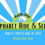 Earth Day Alphabet Hide & Seek - FREE at Waller Mill Park