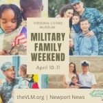 Virginia Living Museum thanks all military families with special discounts - April 10-11