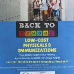 Low-Cost Physicals & Immunizations - Make Appointment by July 1
