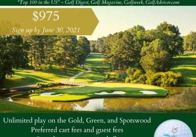 golf membership sale colonial williamsburg