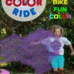 Capital Color Ride - June 6th - Family Friendly Biking with a Splash of Color!
