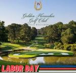 Last weekend of summer rates this Labor Day Weekend at the Golden Horseshoe Golf Club at Colonial Williamsburg