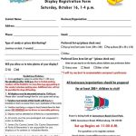 Calling Local Businesses: Be a Vendor at Boo Bash!