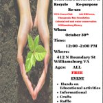 Environmental Event - Learn about how to Recycle, Re-purpose and Re-use