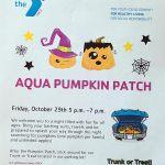 aqua pumpkin patch